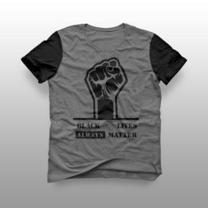 camiseta black lives matter raglã