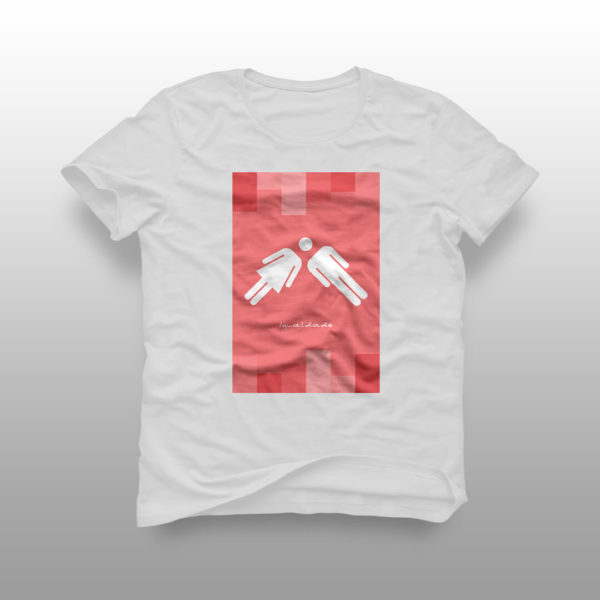 camiseta igualdade 01 branca