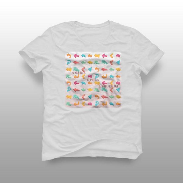 camiseta saida branca