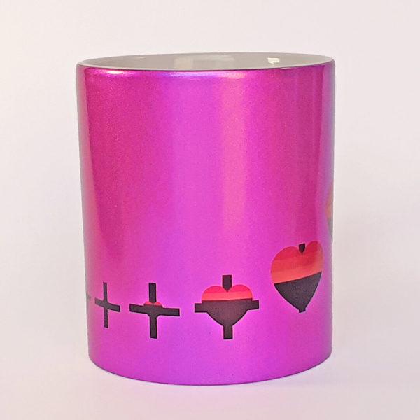 caneca lgbtqi glliter rosa 02