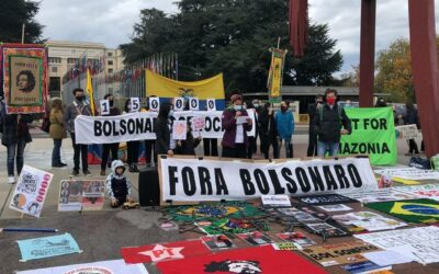 """Com protestos em 23 países, """"Stop Bolsonaro Mundial"""" repudia destruição de florestas e negligência à pandemia"""